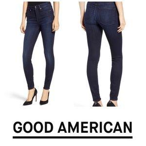 Good America Dark Denim Good Legs Size 10/30